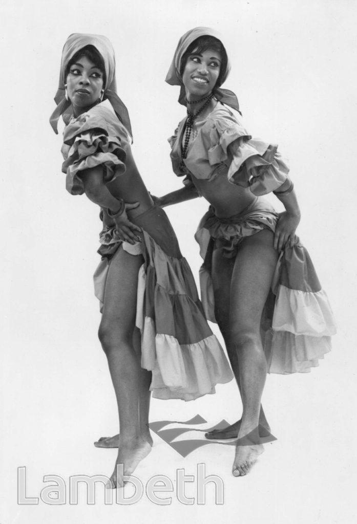 DELLA MCKENZIE: STILL FROM DANCE ROUTINE