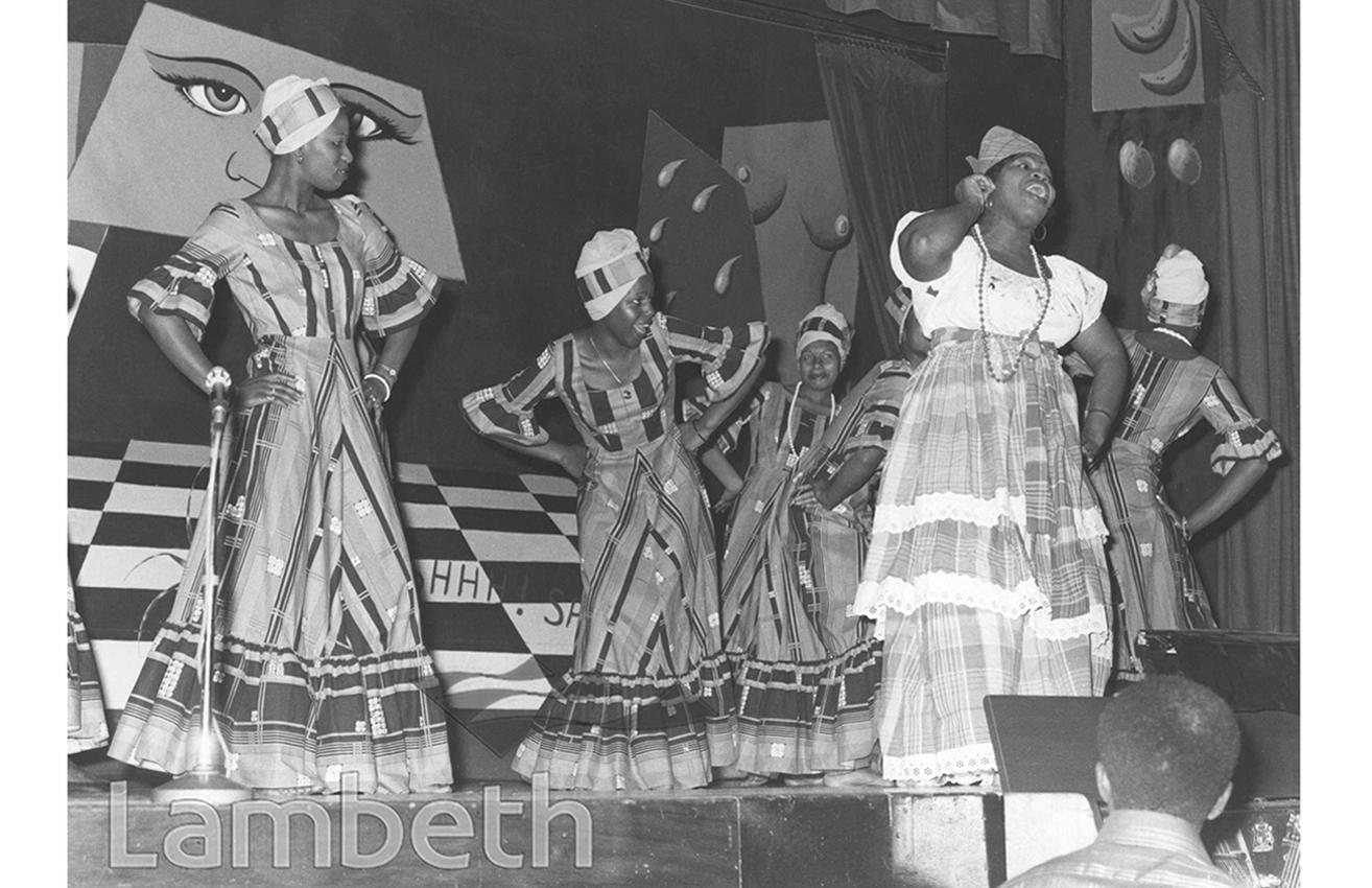JAMAICAN FOLK SINGERS' CONCERT, TOWN HALL, BRIXTON