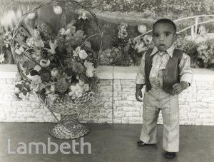 PORTRAIT OF BOY BY HARRY JACOBS