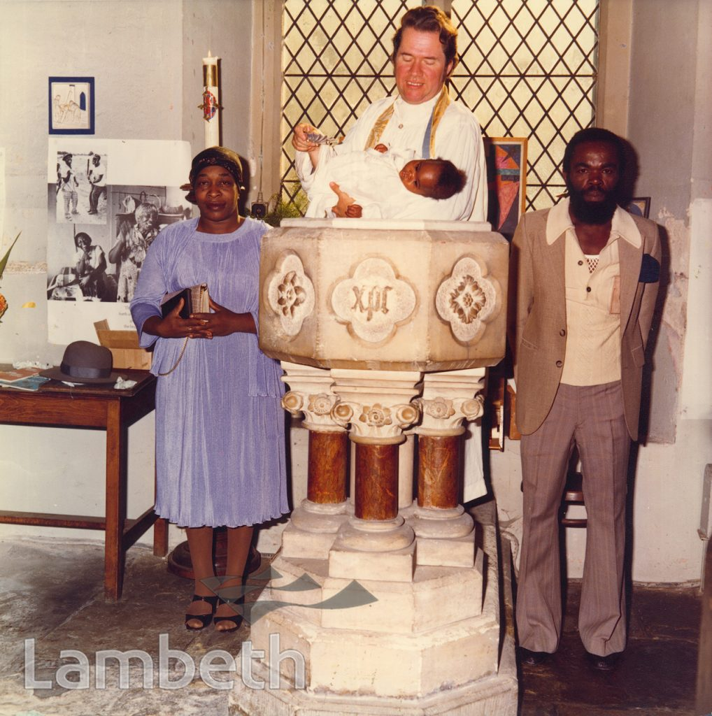 BAPTISM PORTRAIT BY HARRY JACOBS