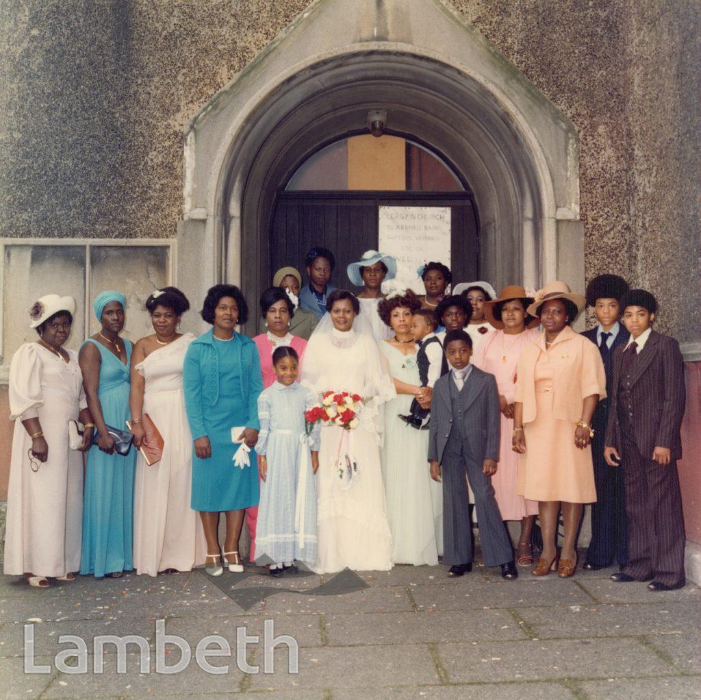 WEDDING PORTRAIT BY HARRY JACOBS, ST ANDREW'S, LANDOR ROAD