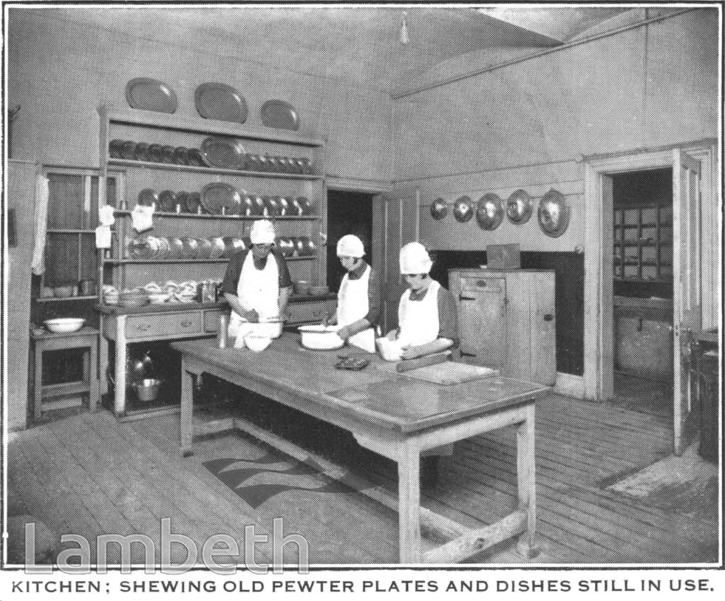 MAGDALEN HOSPITAL KITCHEN, DREWSTEAD ROAD, STREATHAM
