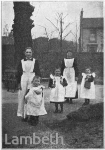 BRIXTON ORPHANAGE FOR FATHERLESS GIRLS, BARRINGTON ROAD