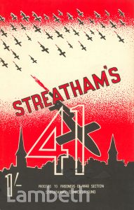 STREATHAM'S 41, WORLD WAR II FLYING BOMBS