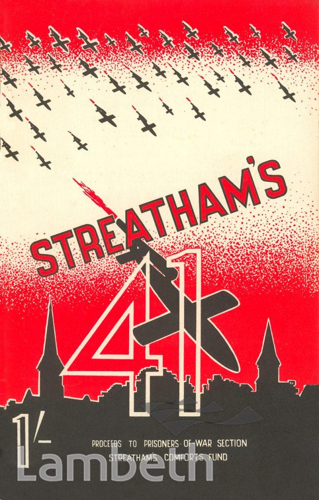 STREATHAM'S 41, WORLD WAR II FLYING BOMBS
