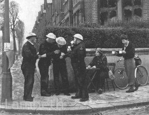 STREATHAM CIVIL DEFENCE WARDENS WORLD WAR II