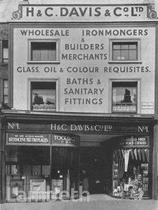 H&C DAVIS & Co, No.1 THE PAVEMENT, CLAPHAM