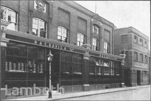 H&C DAVIS & CO, BROMMELL'S ROAD, CLAPHAM