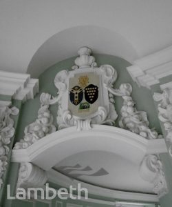 COAT OF ARMS, LAMBETH TOWN HALL REFURBISHMENT, BRIXTON