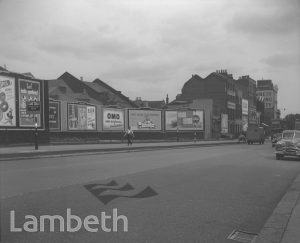 BILLBOARDS, WESTMINSTER BRIDGE ROAD, WATERLOO
