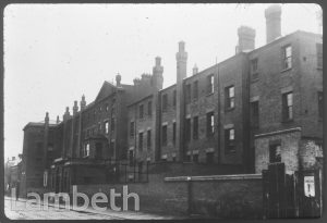 LAMBETH WORKHOUSE, BLACK PRINCE ROAD, LAMBETH