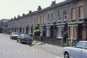GLADSTONE TERRACE, BENTONS LANE, WEST NORWOOD