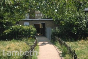 WALKWAY, ROUPELL ESTATE, RUSH COMMON, BRIXTON HILL