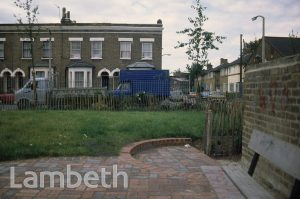 GARDENS, FLAXMAN ROAD, LOUGHBOROUGH JUNCTION