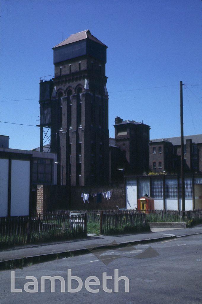 WATER TOWER, LAMBETH HOSPITAL, RENFREW ROAD, KENNINGTON