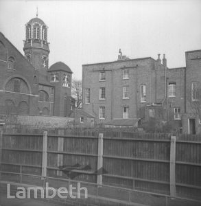 CHRIST CHURCH FROM CAULDWELL STREET, BRIXTON NORTH