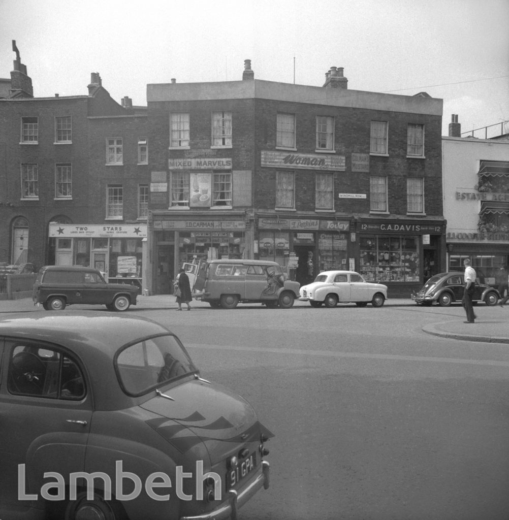 SHOPS, WINDMILL ROW & KENNINGTON ROAD, KENNINGTON