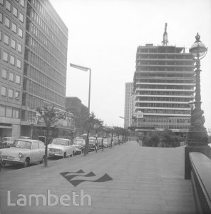 ALBERT EMBANKMENT AND ALEMBIC HOUSE, VAUXHALL
