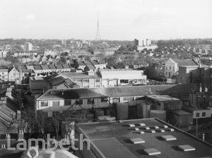 VIEW EAST FROM KNIGHT'S HILL, WEST NORWOOD