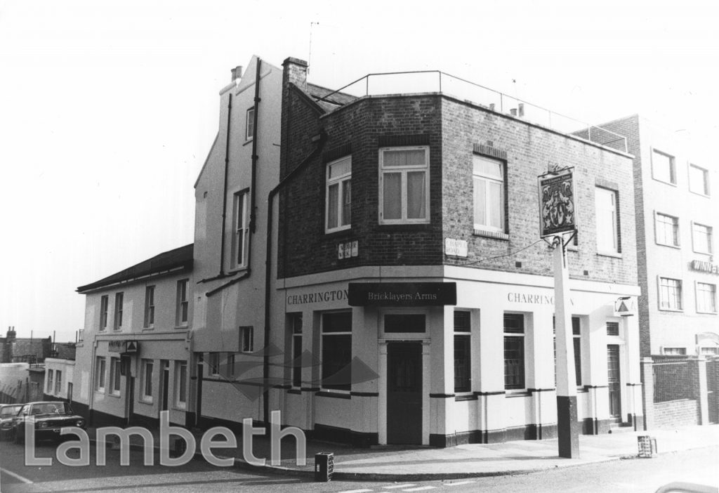BRICKLAYERS ARMS PUBLIC HOUSE, CHAPEL ROAD, WEST NORWOOD