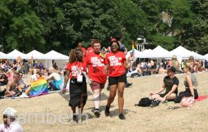 STEWARDS, BLACK PRIDE, VAUXHALL PLEASURE GARDENS