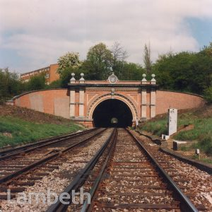 KNIGHT'S HILL RAILWAY TUNNEL, TULSE HILL