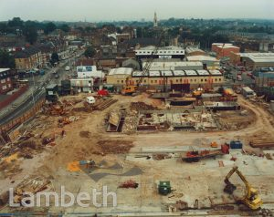 BUS GARAGE DEVELOPMENT SITE, KNIGHT'S HILL, WEST NORWOOD