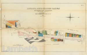 L&SW RAILWAY COMPANY AUCTION, SURPLUS VAUXHALL PROPERTIES