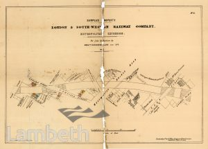 L&SW RAILWAY COMPANY AUCTION, SURPLUS WATERLOO PROPERTIES