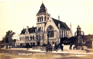Lewisham Town Hall Olley Collection