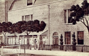 Abraham Owen's butcher's shop