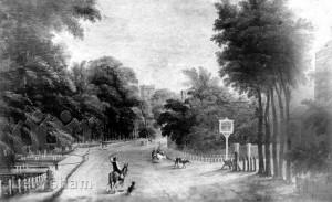 Lewisham High Street With George Inn