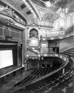Lewisham Hippodrome interior from side