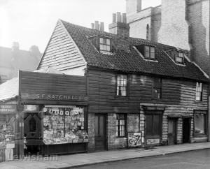 Timbered Shops Nos.132 136 Sydenham Road