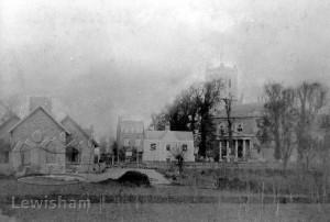 St Mary's Church & back of National School, Lewisham