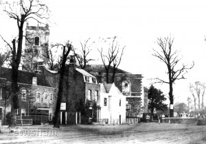 St Mary's Church & nearby buildings, Lewisham
