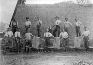J W Heath & Sons, Brockley Green Farm Brickmakers At Work
