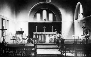 Dartmouth House. Chapel interior.