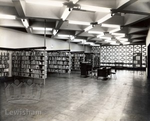 Bromley Road Library Adult Lending Dept. Interior