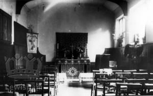 Church of the Ascension, Dartmouth Row. Interior: small chapel.