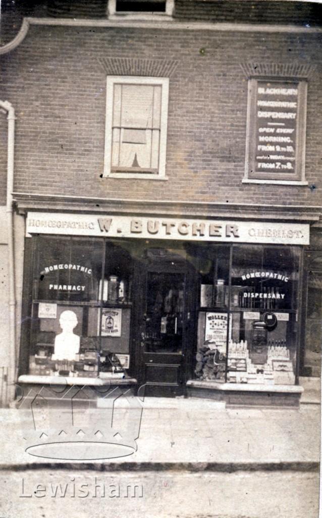 W. Butcher (chemist), Tranquil Vale