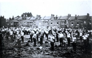 Ennersdale Road – drilling new recruits at the outbreak of the 1914 war