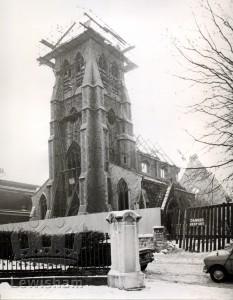 Demolition Of Brockley Congregational Church (St David's)