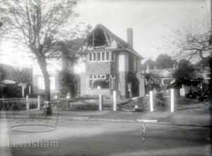 Bomb damage to Sydenham