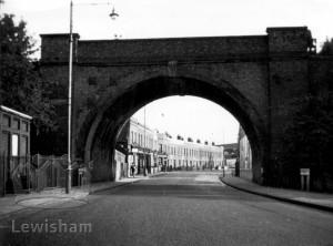 Old Railway Bridge, Brookmill Road, Deptford