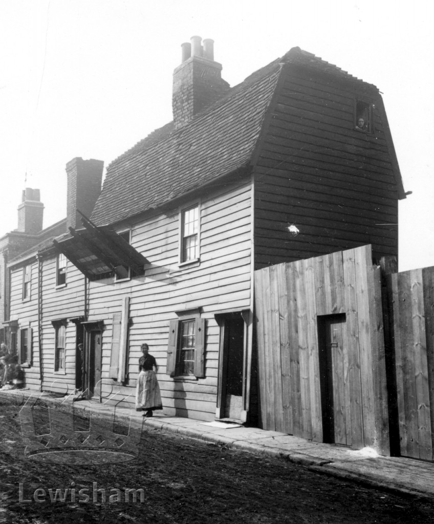 Old Wooden House In Crossfield Lane