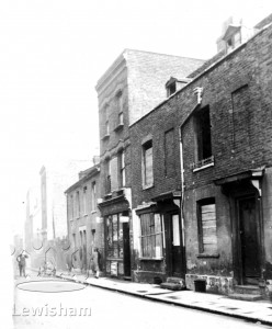 Old Houses In Watergate Street