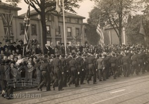 Battle of Britain Sunday at Lewisham Way, Deptford