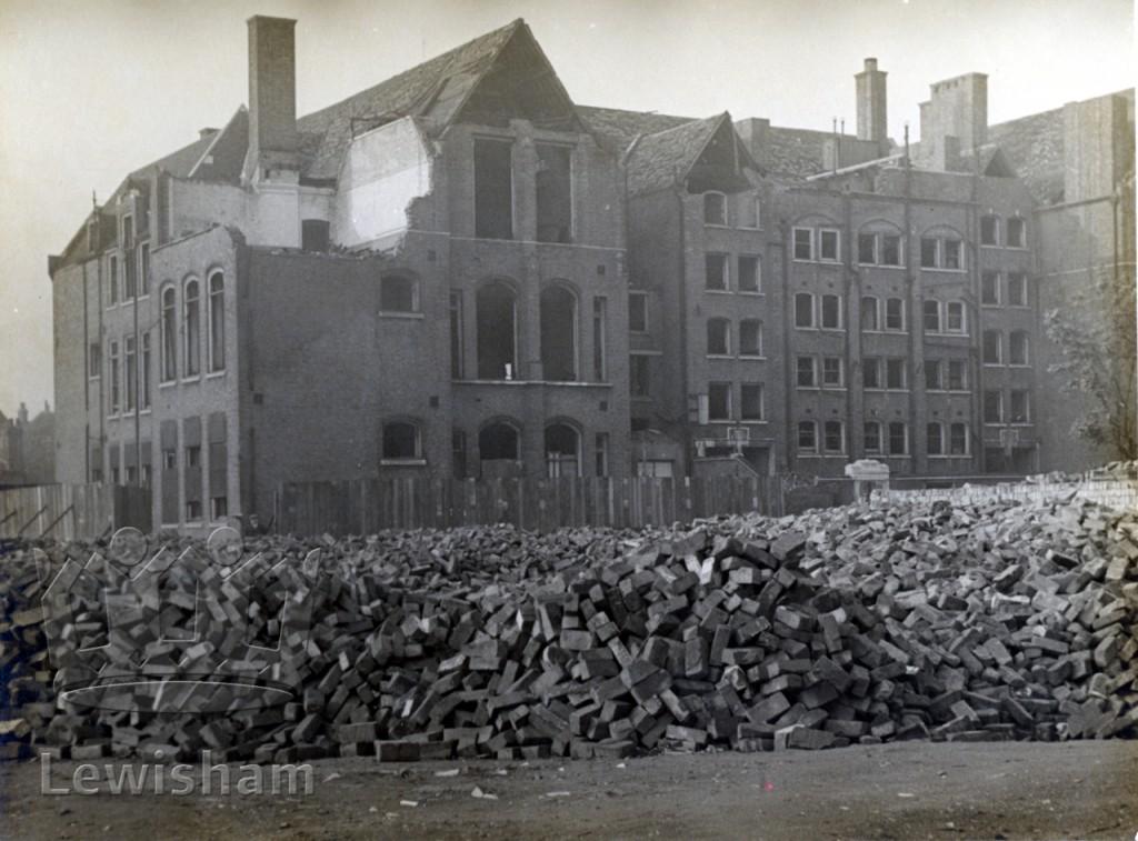 War damage in Deptford