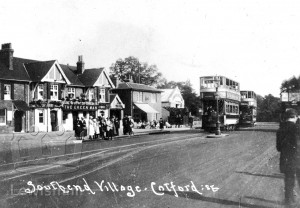 Southend Village Showing The Green Man